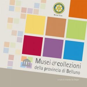 Copertina guida Musei e collezioni della provincia di Belluno